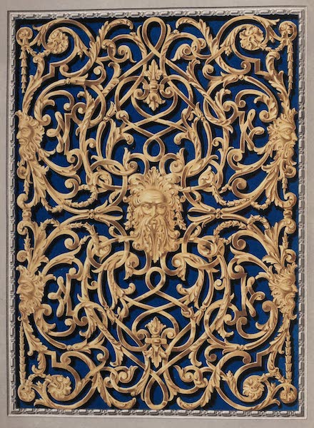 The Industrial Arts of the Nineteenth Century Vol. 2 - Open-work Panel by Bailey and Co., London (1851)