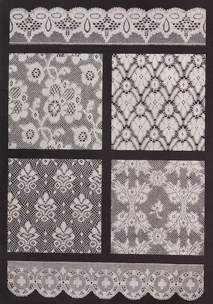 The Industrial Arts of the Nineteenth Century Vol. 2 - Machine-made Lace by Heyman & Alexander, and Birkin, Nottingham (1851)
