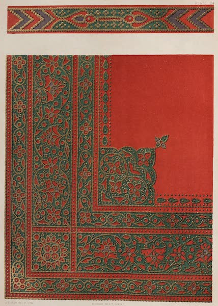 The Industrial Arts of the Nineteenth Century Vol. 2 - Decoration of Saddle-cover (1851)
