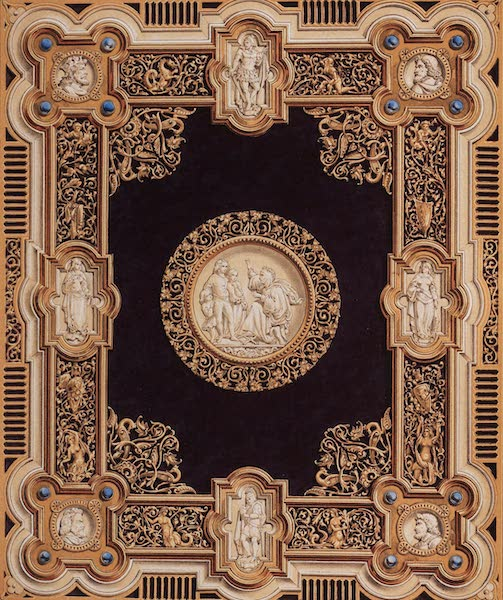 The Industrial Arts of the Nineteenth Century Vol. 2 - Book-cover in carved Ivory, presented to her Majesty the Queen by the Emperor of Austria (1851)