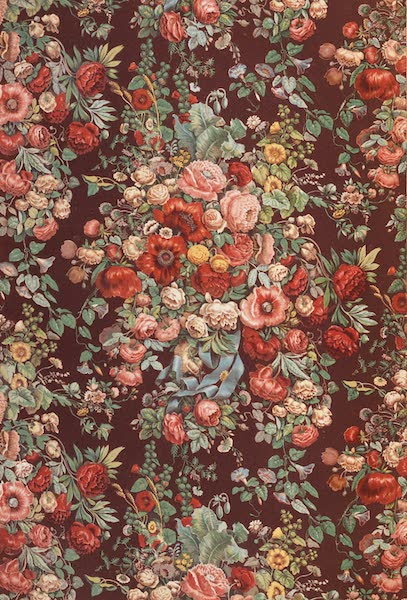 The Industrial Arts of the Nineteenth Century Vol. 2 - Chintz Pattern by Japuis and Son, Paris (1851)