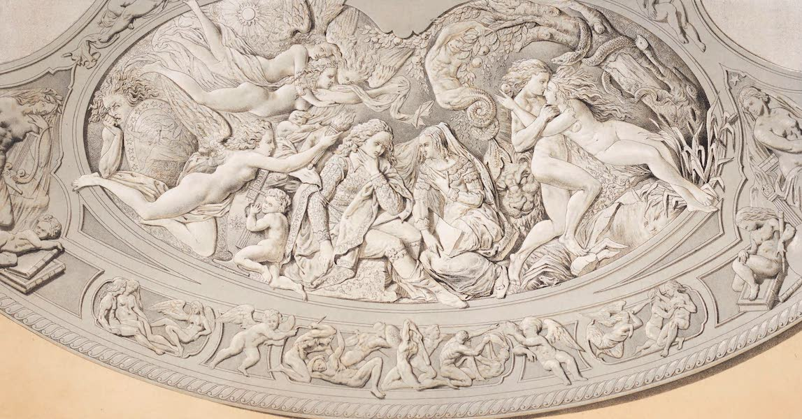 The Industrial Arts of the Nineteenth Century Vol. 2 - Portion of a Shield in Silver by Vechte ; for Hunt & Roskell, Lond. (1851)