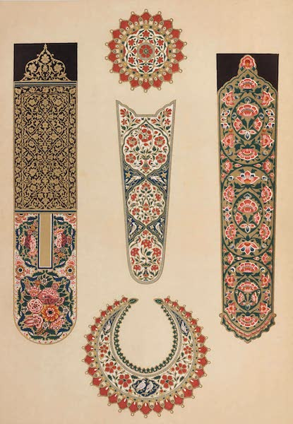 The Industrial Arts of the Nineteenth Century Vol. 2 - Enamelling, from Arms (1851)