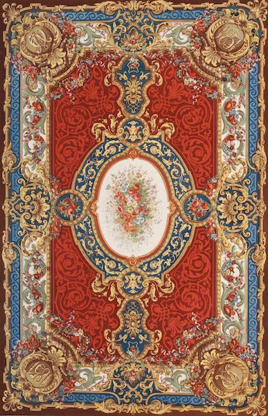 The Industrial Arts of the Nineteenth Century Vol. 2 - Axminster Carpet by Jackson and Graham, London (1851)