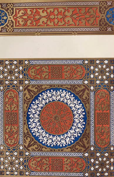 The Industrial Arts of the Nineteenth Century Vol. 2 - Decoration derived from the Alhambra ; being a portion of the Cabinet of the Queen of Spain at Aranjuez (1851)