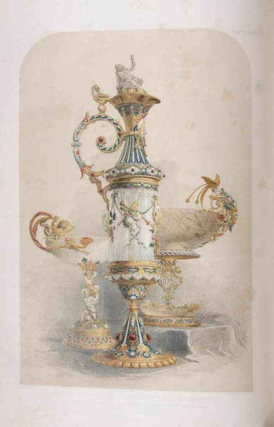 The Industrial Arts of the Nineteenth Century Vol. 2 - Group of Objects by Morel, London (1851)