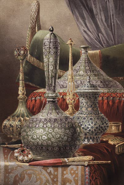 The Industrial Arts of the Nineteenth Century Vol. 2 - Group of Objects, principally enamelled (1851)