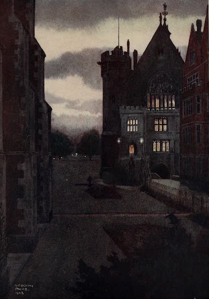 The Inns of Court Painted and Described - Middle Temple Library (1909)
