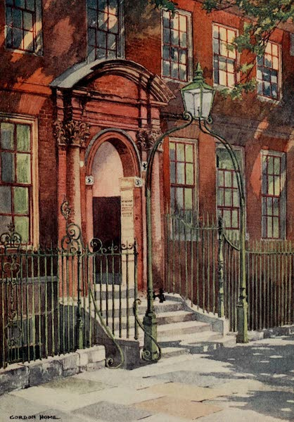 The Inns of Court Painted and Described - No. 5, King's Bench Walk, Inner Temple (1909)