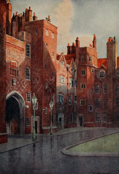 The Inns of Court Painted and Described - Old Square, Lincoln's Inn (1909)