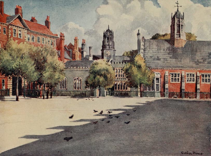 The Inns of Court Painted and Described - Gray's Inn Square (1909)
