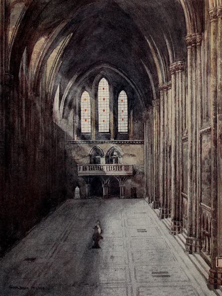 The Inns of Court Painted and Described - The Great Hall of the Royal Courts of Justice (1909)