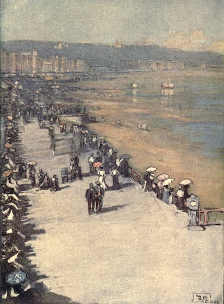 The Isle of Man - The Promenade, Douglas (1909)