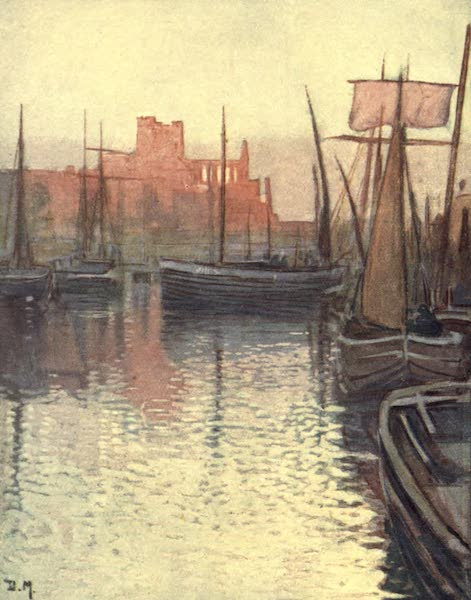 The Isle of Man - Peel Harbour (1909)