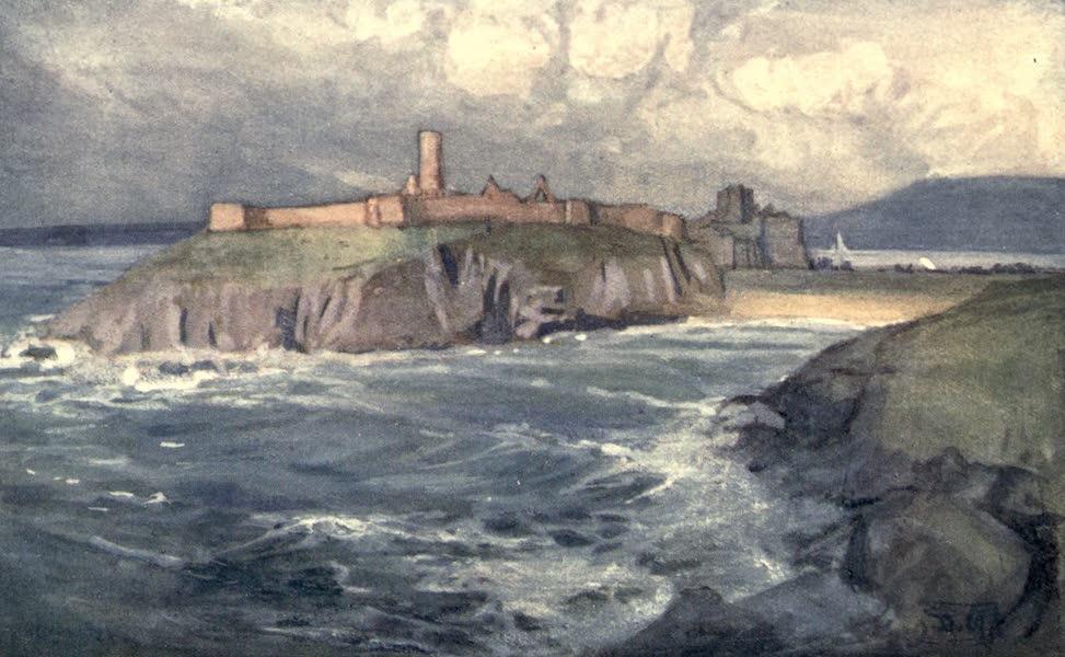 The Isle of Man - St. Patrick's Isle, Peel (1909)