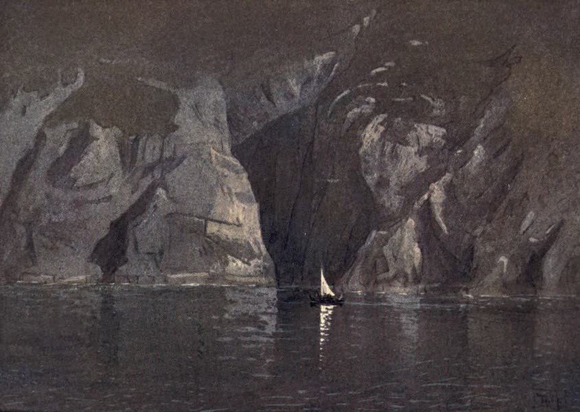 The Isle of Man - The Caves of Bradda (1909)