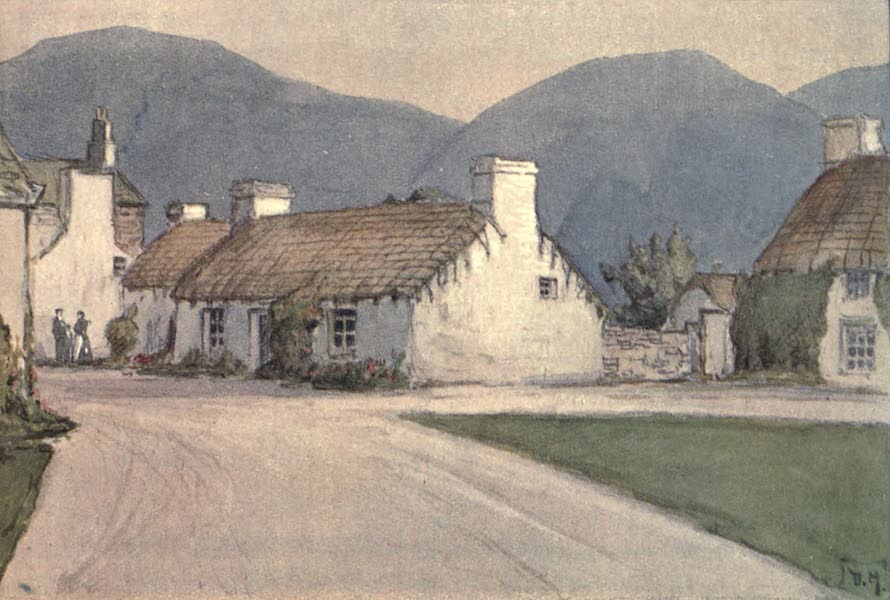 The Isle of Man - Sulby Village (1909)