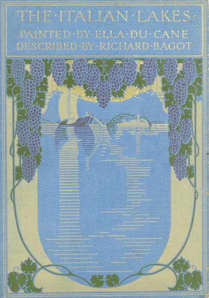 The Italian Lakes, Painted and Described - Front Cover (1912)