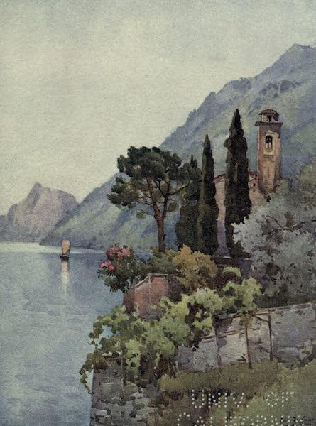 The Italian Lakes, Painted and Described - Oria, Lago di Lugano (1912)