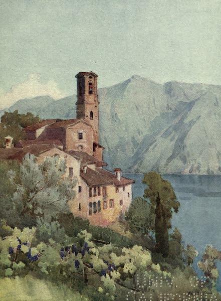 The Italian Lakes, Painted and Described - Castagnola, Lago di Lugano (1912)