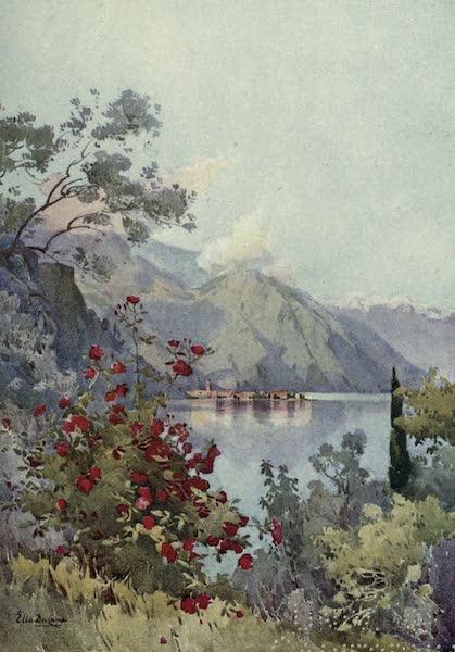 The Italian Lakes, Painted and Described - Menaggio, Lago di Como (1912)