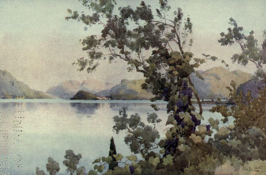 The Italian Lakes, Painted and Described - Evening, Lago di Como (1912)