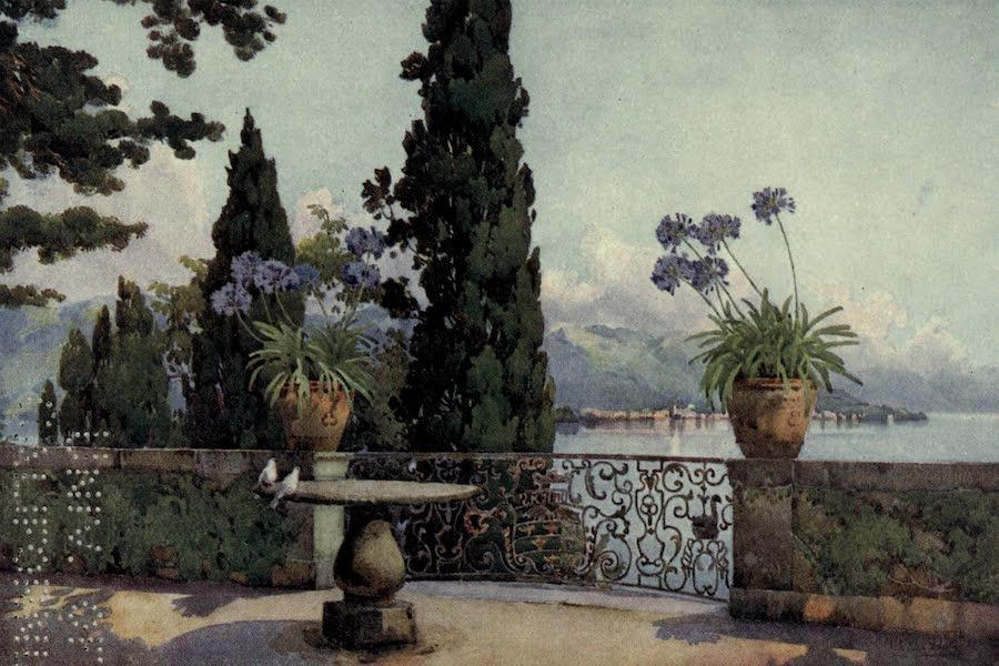 The Italian Lakes, Painted and Described - Pallanza from Isola Bella, Lago Maggio (1912)
