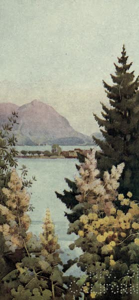 The Italian Lakes, Painted and Described - A Garden (1912)