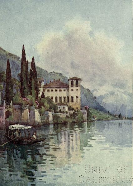 The Italian Lakes, Painted and Described - Gravedona, Lago di Como (1912)