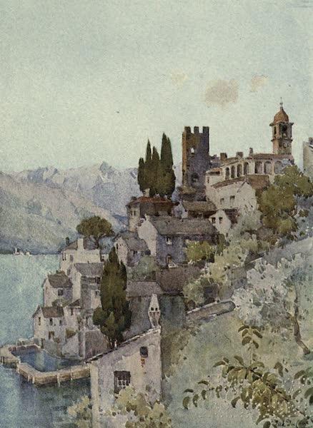 The Italian Lakes, Painted and Described - Corenno, Lago di Como (1912)