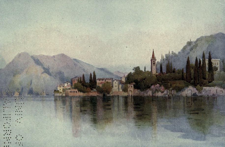 The Italian Lakes, Painted and Described - Varenna, Lago di Como (1912)