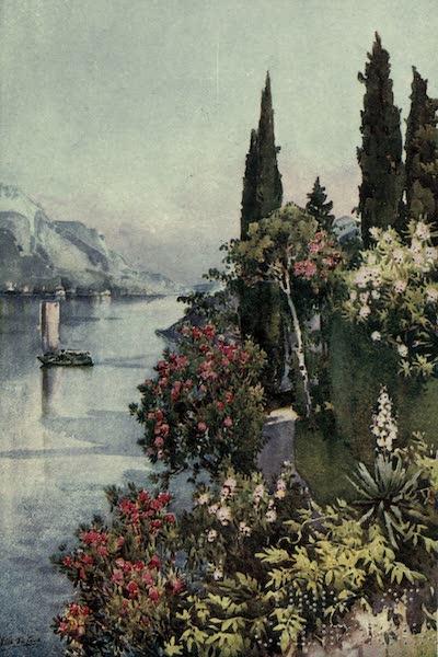The Italian Lakes, Painted and Described - Villa Giulia, Lago di Como (1912)