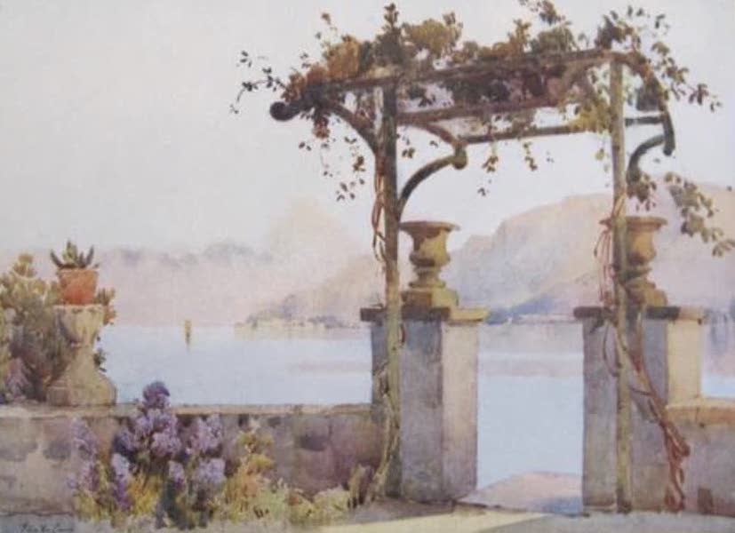 The Italian Lakes, Painted and Described - Limonta, Lago di Como (1912)