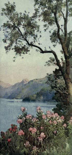 The Italian Lakes, Painted and Described - Lago di Lecco, Lago di Como (1912)