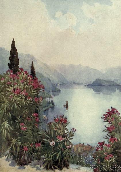 The Italian Lakes, Painted and Described - Villa Serbelloni, Lago di Como (1912)