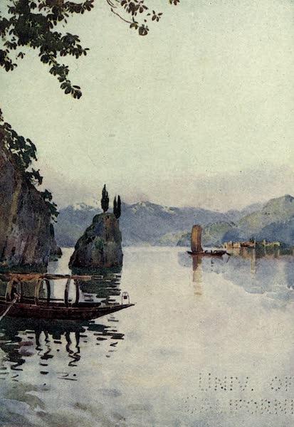 The Italian Lakes, Painted and Described - Il Punto di di Como Bellagio, Lago di Como (1912)