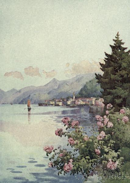 The Italian Lakes, Painted and Described - Bellagio from the Villa Melzi, Lago di Como (1912)