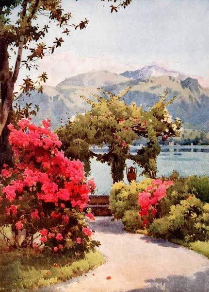 The Italian Lakes, Painted and Described - Villa Carlotta, Lago di Como (1912)