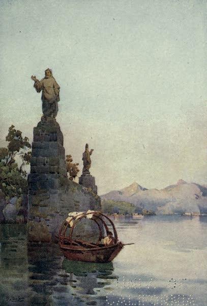 The Italian Lakes, Painted and Described - Entrance to the Villa Arconati, Lago di Como (1912)