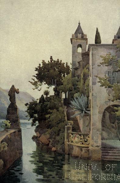 The Italian Lakes, Painted and Described - Villa Arconati, Lago di Como (1912)