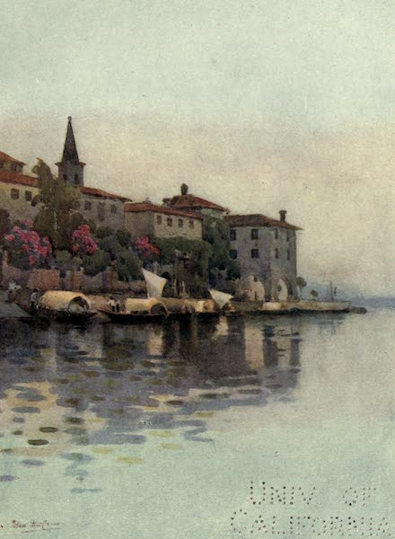 The Italian Lakes, Painted and Described - A Grey Morning, Lago Maggiore (1912)