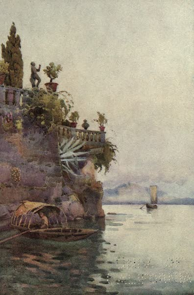 The Italian Lakes, Painted and Described - In the Shadow of the Terrace (1912)