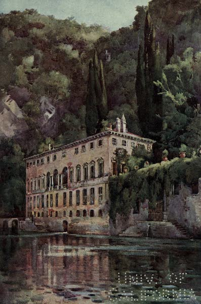 The Italian Lakes, Painted and Described - Villa Pliniana, Lago di Como (1912)