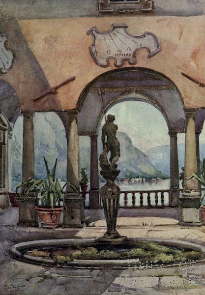 The Italian Lakes, Painted and Described - The Loggia, Villa Pliniana, Lago di Como (1912)