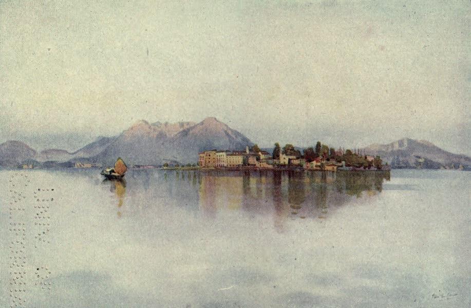 The Italian Lakes, Painted and Described - Isola Bella, Lago Maggiore (1912)
