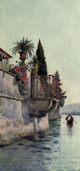 The Italian Lakes, Painted and Described - A Balcony (1912)