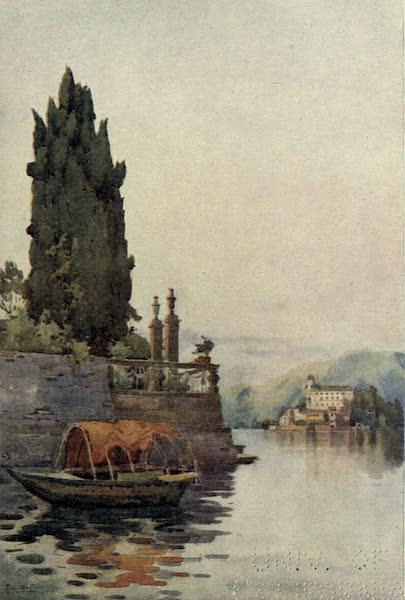 The Italian Lakes, Painted and Described - Orta (1912)