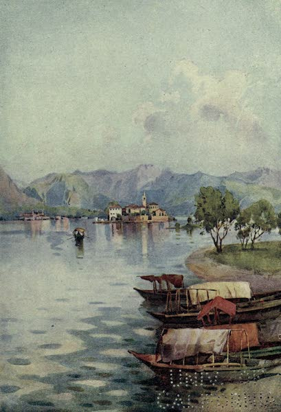 The Italian Lakes, Painted and Described - In the Heat of the Day (1912)