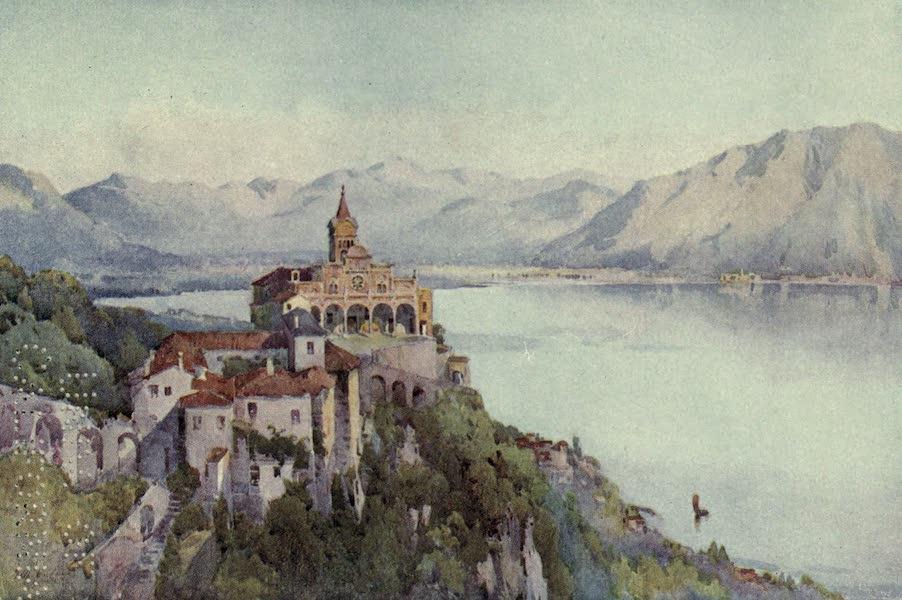 The Italian Lakes, Painted and Described - La Madonna del Sasso, Locarno, Lago Maggiore (1912)