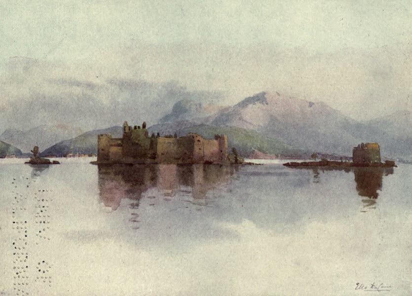 The Italian Lakes, Painted and Described - Cannero, Lago Maggiore (1912)